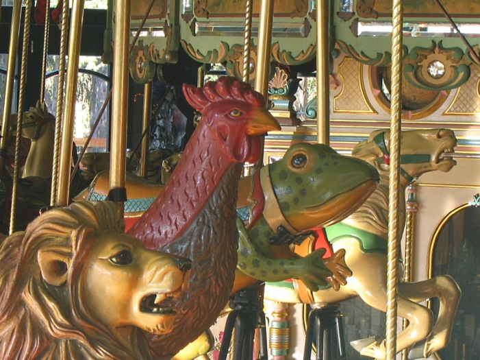 Carousel Animals. Copyright 2014 Jimmy Reina