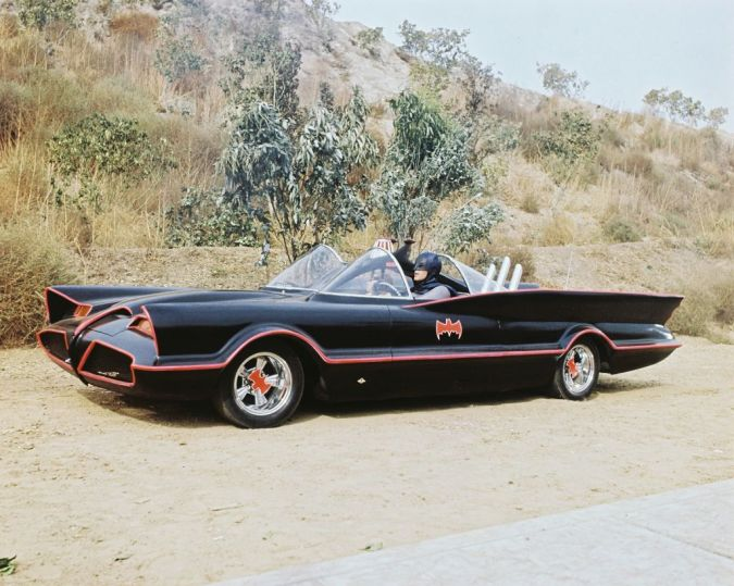 Batman with Batmobile