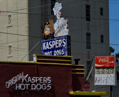 KASPER'S HOT DOGS
